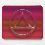 Sober Sobriety Recovery AA Mouse Pad (Mousepad)
