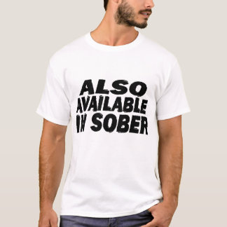 Sober t-shirts