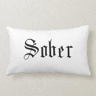Sober Throw Pillow