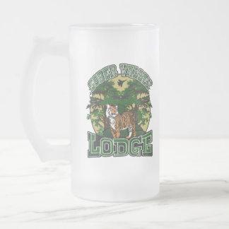 Sober Valley Lodge Frosted Glass Beer Mug