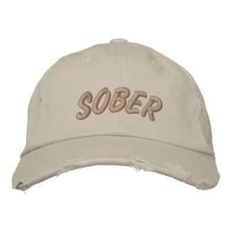 SoberCap Embroidered Hat