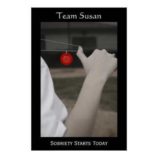 Sobriety Starts Today Posters