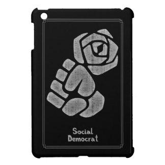 Soc Dem Rose Fist iPad Mini Cover