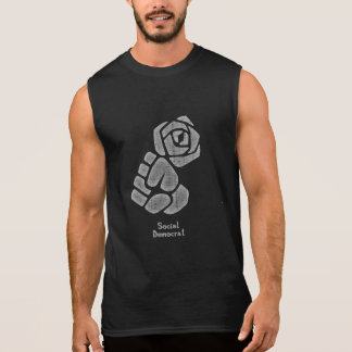 Soc Dem Rose Fist Sleeveless Shirt