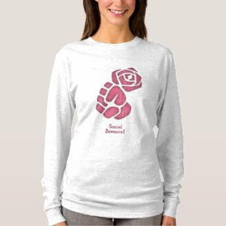 Soc Dem Rose Fist T-Shirt