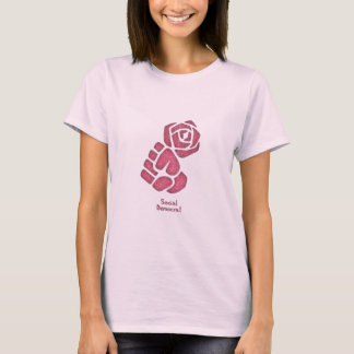Soc Dem Rose Fist T-Shirt