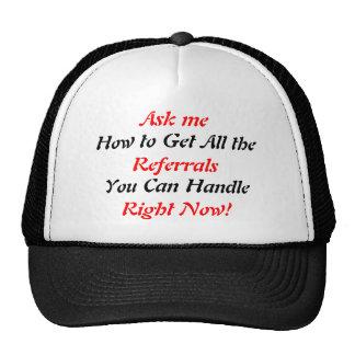 SOC prospectant le chapeau Casquettes