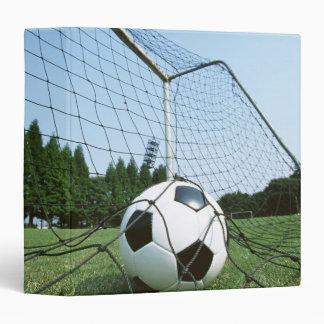 Soccer 3 Ring Binder