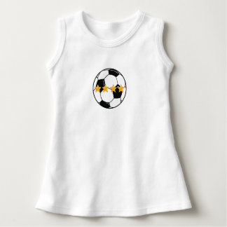 Soccer All Star Baby Sleeveless Dress
