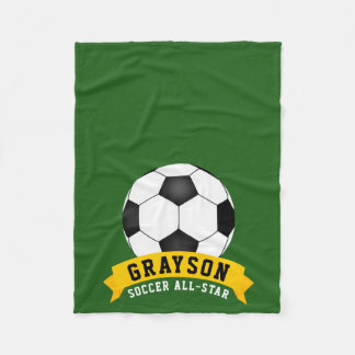 Soccer All-Star Fleece Blanket