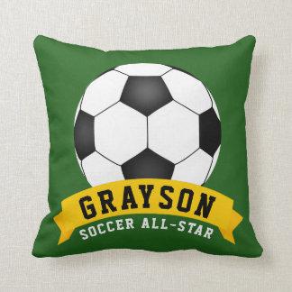 Soccer All-Star Throw Pillow