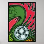 Soccer Art Poster