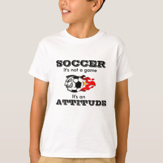 Soccer Attitude T-Shirt for Kids