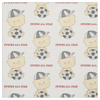 Soccer Baby All Star Fabric