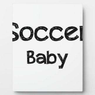 Soccer Baby Plaque