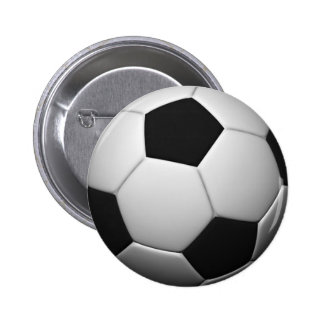 SOCCER badge 2 Inch Round Button