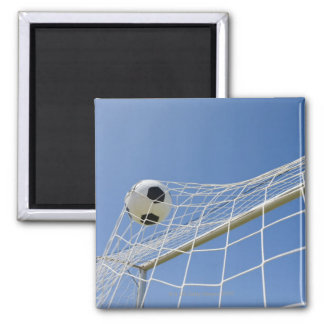 Soccer Ball and Goal 3 Magnet