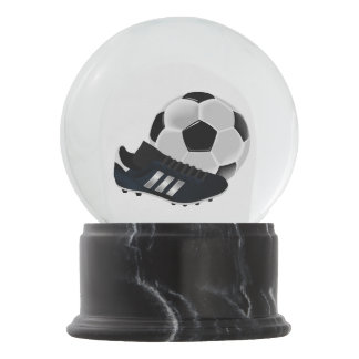 Soccer Ball and Shoe Snow Globe