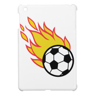 Soccer Ball Appliqué iPad Mini Covers