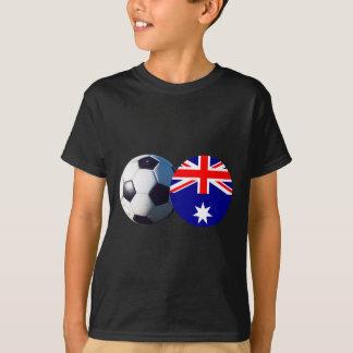 Soccer Ball & Australia Flag jGibney The MUSEUM Tees