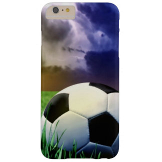 Soccer Ball Barely There iPhone 6 Plus Case
