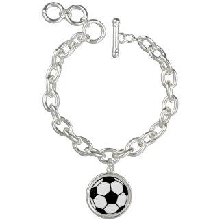 Soccer Ball Bracelets