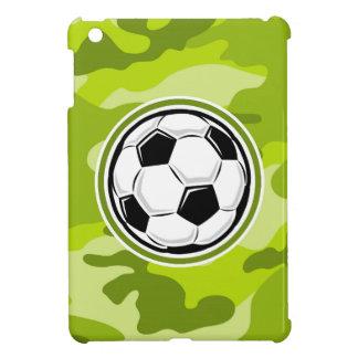 Soccer Ball bright green camo camouflage iPad Mini Cover