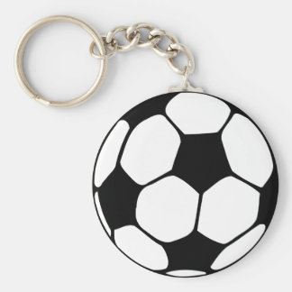 Soccer Ball  Close-up Keychain