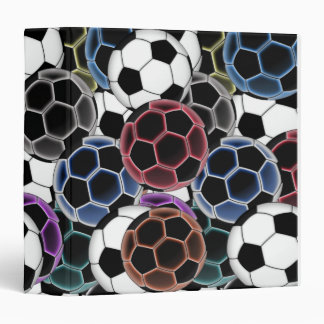 Soccer Ball Collage Binder
