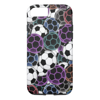 Soccer Ball Collage iPhone 7 Case