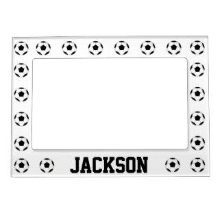 Soccer Ball Custom Magnetic Picture Frame