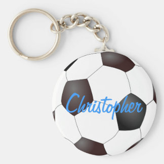 Soccer Ball - Customizable Keychain
