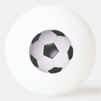 """Soccer Ball"" design gifts and products Ping Pong Ball"