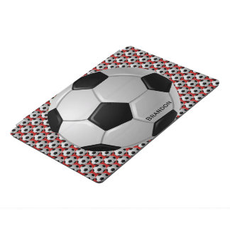 Soccer Ball Design iPad Cover