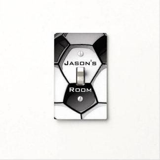 Soccer Ball Design Light Switch Cover