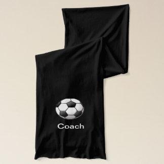 Soccer Ball Design Scarf