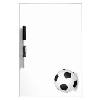Soccer Ball Dry Erase Board