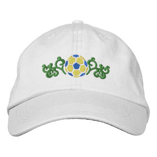 Soccer Ball Embroidered Hat