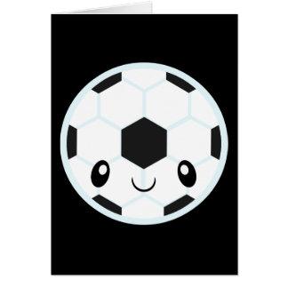 Soccer Ball Emoji Card