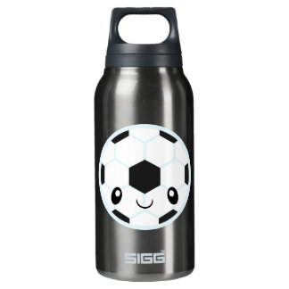 Soccer Ball Emoji Insulated Water Bottle