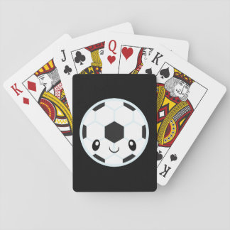 Soccer Ball Emoji Playing Cards