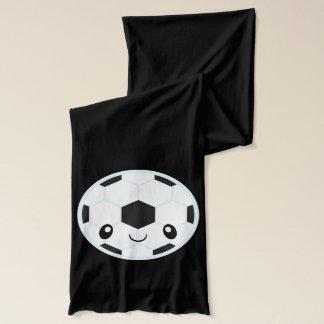 Soccer Ball Emoji Scarf