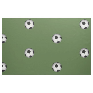 Soccer Ball Fabric by Leslie Harlow