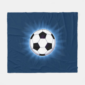 Soccer Ball Fleece Blanket