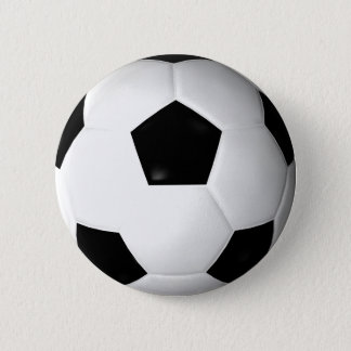 Soccer Ball ( football ) 2 Inch Round Button
