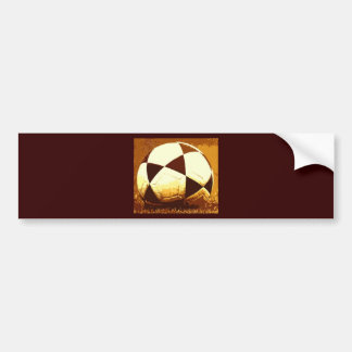 Soccer Ball - Football Ball Bumper Sticker
