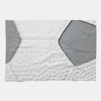 Soccer Ball football Close Up Kitchen Towel