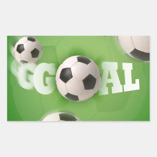 Soccer Ball Football Goal - Sticker