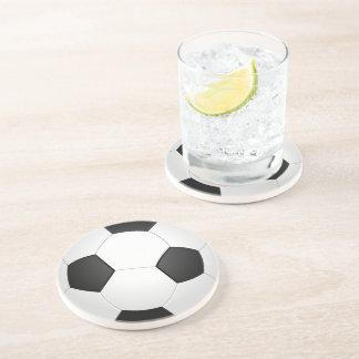 Soccer Ball Football Illustration Coaster