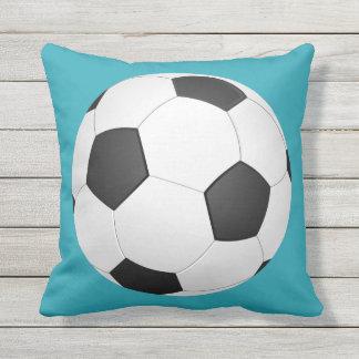 Soccer Ball Football Illustration Outdoor Pillow
